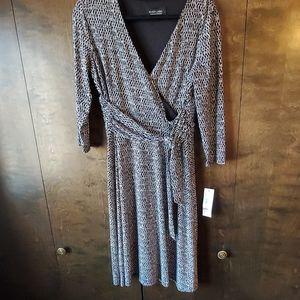 Classic wrap style dress